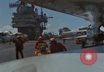Image of Aircraft Carrier USS Ranger Indian Ocean, 1982, second 53 stock footage video 65675052139