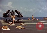 Image of USS Randolph Pacific Ocean, 1945, second 22 stock footage video 65675052150