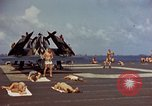 Image of USS Randolph Pacific Ocean, 1945, second 23 stock footage video 65675052150