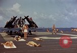 Image of USS Randolph Pacific Ocean, 1945, second 24 stock footage video 65675052150