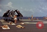 Image of USS Randolph Pacific Ocean, 1945, second 25 stock footage video 65675052150