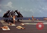 Image of USS Randolph Pacific Ocean, 1945, second 29 stock footage video 65675052150