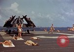 Image of USS Randolph Pacific Ocean, 1945, second 33 stock footage video 65675052150