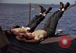 Image of USS Randolph Pacific Ocean, 1945, second 51 stock footage video 65675052150