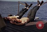 Image of USS Randolph Pacific Ocean, 1945, second 54 stock footage video 65675052150