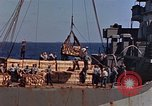Image of ammunition ship Pacific Ocean, 1945, second 6 stock footage video 65675052157