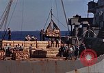 Image of ammunition ship Pacific Ocean, 1945, second 10 stock footage video 65675052157