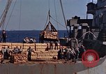 Image of ammunition ship Pacific Ocean, 1945, second 12 stock footage video 65675052157