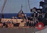 Image of ammunition ship Pacific Ocean, 1945, second 14 stock footage video 65675052157
