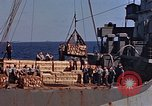 Image of ammunition ship Pacific Ocean, 1945, second 15 stock footage video 65675052157