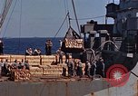 Image of ammunition ship Pacific Ocean, 1945, second 16 stock footage video 65675052157