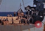 Image of ammunition ship Pacific Ocean, 1945, second 18 stock footage video 65675052157
