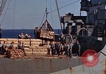 Image of ammunition ship Pacific Ocean, 1945, second 19 stock footage video 65675052157