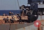 Image of ammunition ship Pacific Ocean, 1945, second 23 stock footage video 65675052157