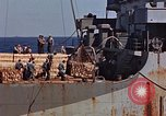 Image of ammunition ship Pacific Ocean, 1945, second 24 stock footage video 65675052157