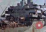 Image of ammunition ship Pacific Ocean, 1945, second 45 stock footage video 65675052157