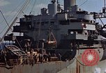 Image of ammunition ship Pacific Ocean, 1945, second 46 stock footage video 65675052157
