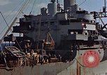 Image of ammunition ship Pacific Ocean, 1945, second 47 stock footage video 65675052157