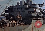 Image of ammunition ship Pacific Ocean, 1945, second 48 stock footage video 65675052157