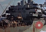 Image of ammunition ship Pacific Ocean, 1945, second 49 stock footage video 65675052157