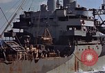 Image of ammunition ship Pacific Ocean, 1945, second 50 stock footage video 65675052157
