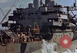 Image of ammunition ship Pacific Ocean, 1945, second 51 stock footage video 65675052157