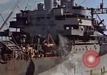 Image of ammunition ship Pacific Ocean, 1945, second 52 stock footage video 65675052157