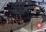 Image of ammunition ship Pacific Ocean, 1945, second 55 stock footage video 65675052157