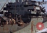 Image of ammunition ship Pacific Ocean, 1945, second 56 stock footage video 65675052157