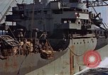 Image of ammunition ship Pacific Ocean, 1945, second 57 stock footage video 65675052157