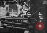 Image of rockets strafe enemy positions  Korea, 1950, second 22 stock footage video 65675052164