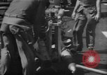 Image of rockets strafe enemy positions  Korea, 1950, second 24 stock footage video 65675052164