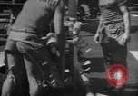Image of rockets strafe enemy positions  Korea, 1950, second 25 stock footage video 65675052164