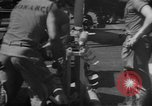 Image of rockets strafe enemy positions  Korea, 1950, second 27 stock footage video 65675052164