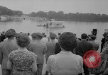 Image of troops walking on water Washington DC USA, 1962, second 5 stock footage video 65675052198