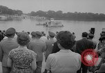 Image of troops walking on water Washington DC USA, 1962, second 6 stock footage video 65675052198