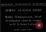 Image of Rabi Schnayerson New York United States USA, 1929, second 4 stock footage video 65675052215