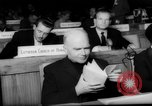 Image of delegates in assembly Delhi India, 1962, second 15 stock footage video 65675052219