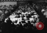 Image of delegates in assembly Delhi India, 1962, second 28 stock footage video 65675052219