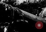 Image of wreckage of Japanese plane Burma, 1944, second 9 stock footage video 65675052238