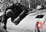 Image of wreckage of Japanese plane Burma, 1944, second 25 stock footage video 65675052238