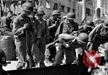 Image of members of 3rd Division Naples Italy, 1944, second 8 stock footage video 65675052247