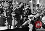 Image of members of 3rd Division Naples Italy, 1944, second 9 stock footage video 65675052247