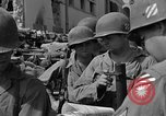 Image of members of 3rd Division Naples Italy, 1944, second 38 stock footage video 65675052247