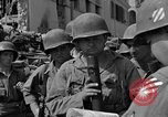 Image of members of 3rd Division Naples Italy, 1944, second 39 stock footage video 65675052247