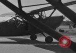 Image of L-5 Piper Cub plane Palawan Philippines, 1941, second 4 stock footage video 65675052256
