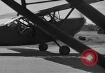 Image of L-5 Piper Cub plane Palawan Philippines, 1941, second 10 stock footage video 65675052256