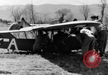 Image of Piper Cub plane Italy, 1944, second 18 stock footage video 65675052266