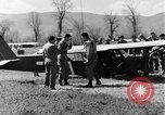 Image of Piper Cub plane Italy, 1944, second 25 stock footage video 65675052266