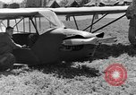 Image of Piper Cub plane Italy, 1944, second 43 stock footage video 65675052266